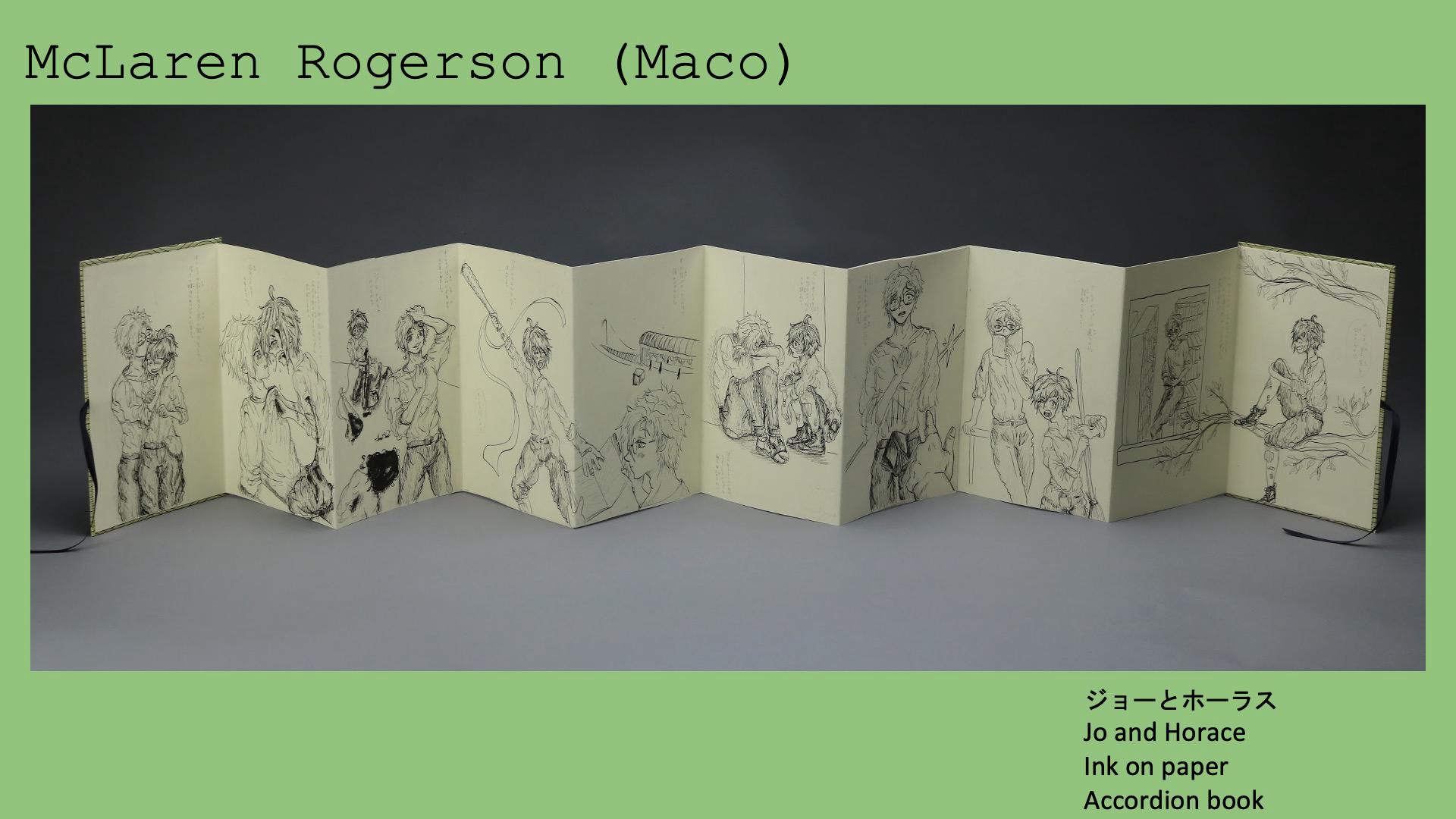 McLaren Rogerson (Maco), ジョーとホーラス - Jo and Horace