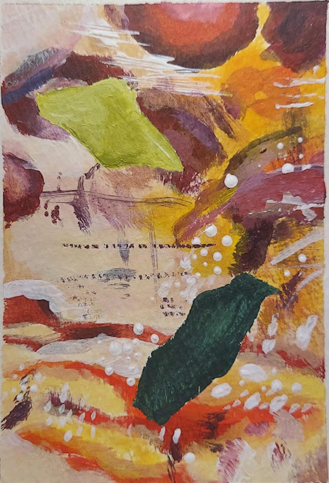 Melissa Mintz, Mini-Color Study Painting