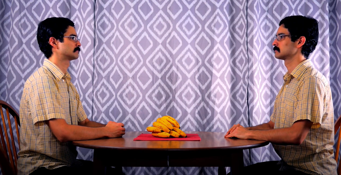Otavio Manzano Kavakama, The Other, or how to peel a banana