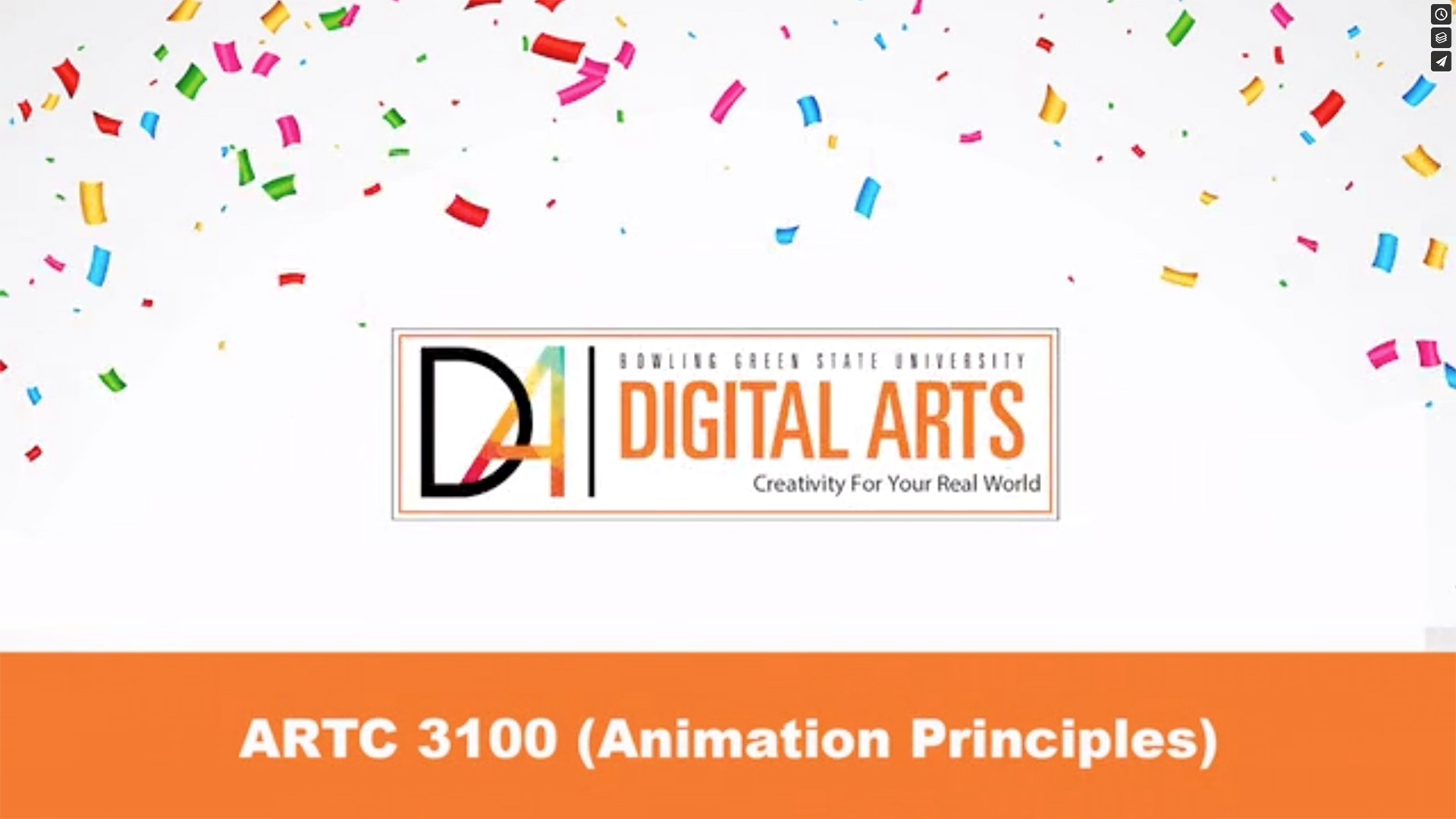 ARTC 3100, Animation Principals
