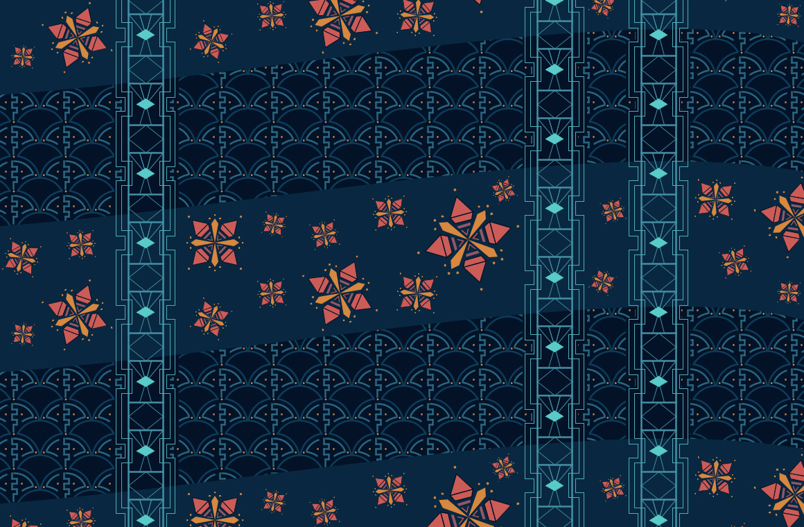 Hannah Roberts, Complex Pattern