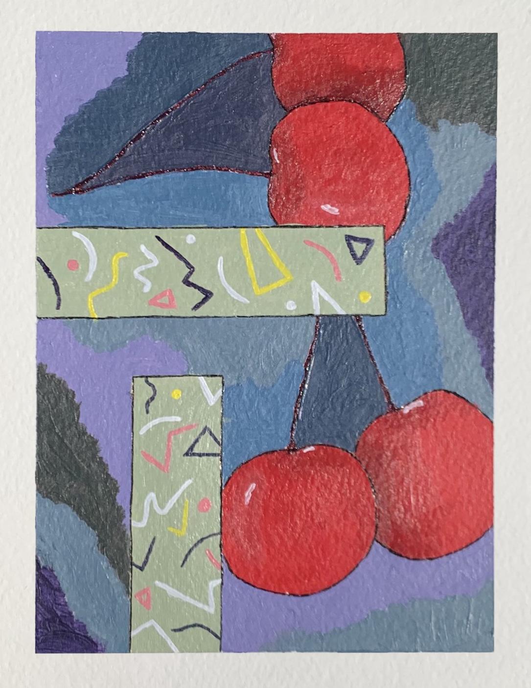 Savannah Woodruff, Mini-Color Study Painting