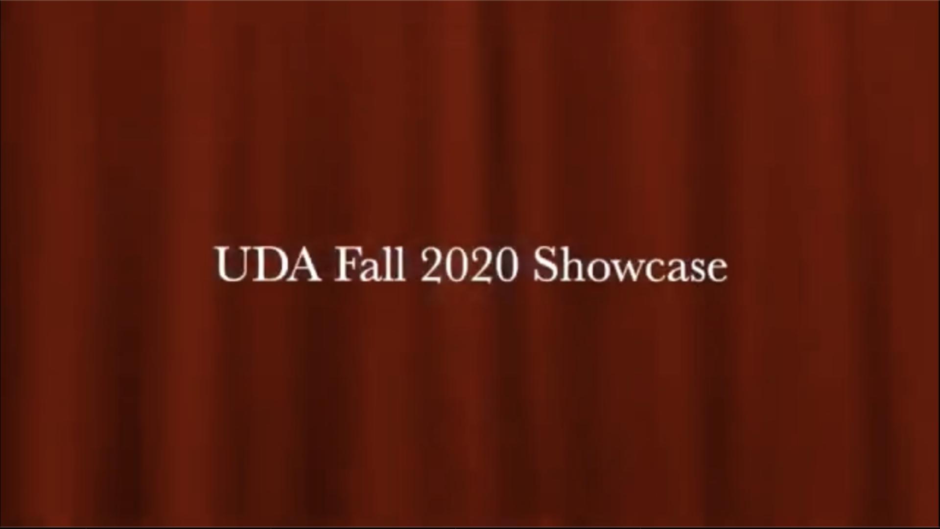 University Dance Alliance, Fall 2020 Showcase Promotional Video