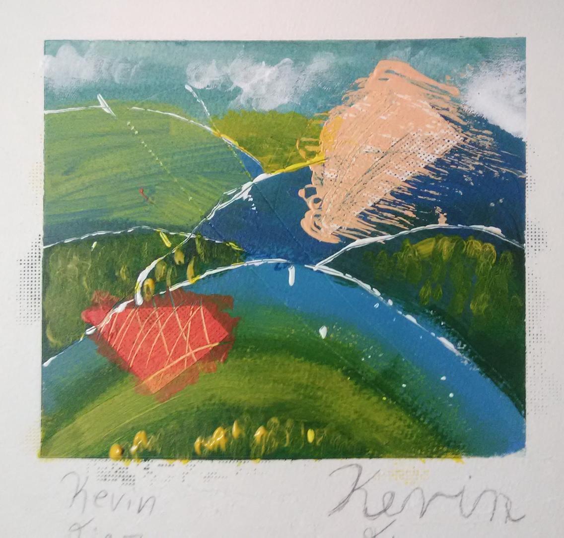 Kevin Diaz, Mini-Color Study Painting