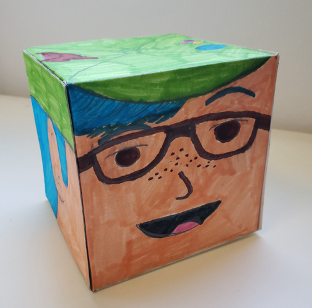 Jordan Santamaria, Mini Box Head Self-Portraits