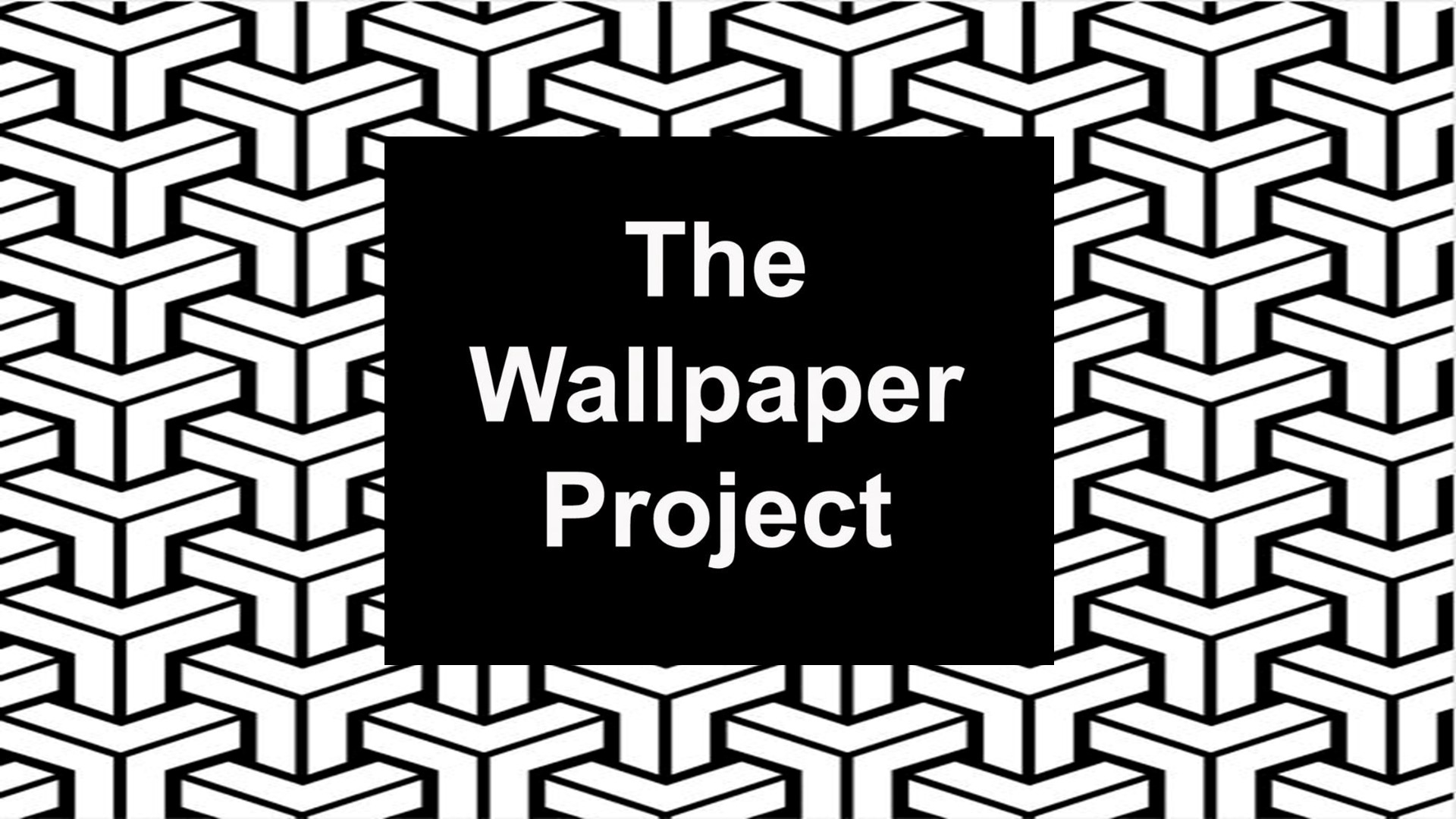 Screenprint Students, Wallpaper Project