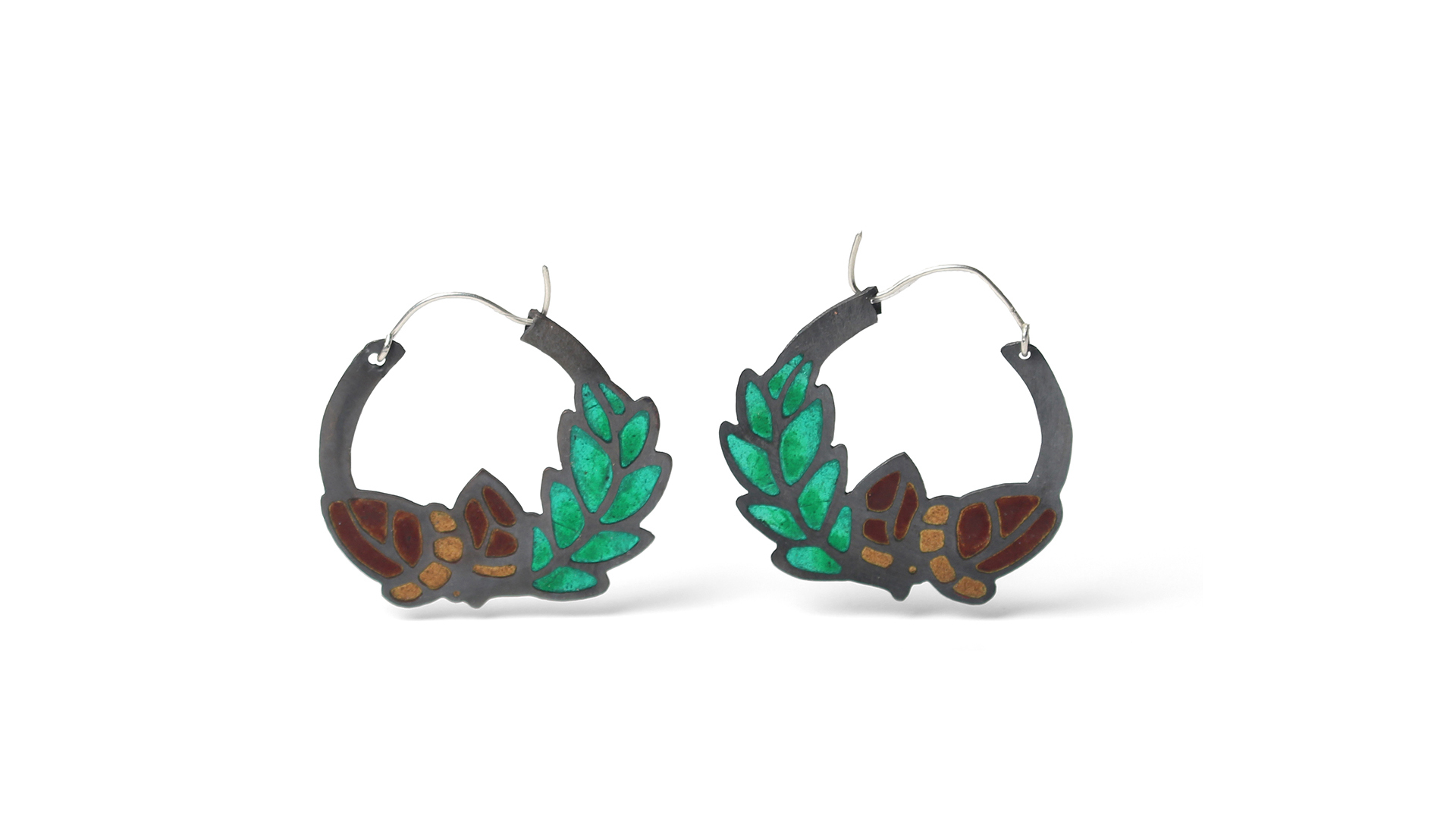 Zoe Glos, Acorn Earrings