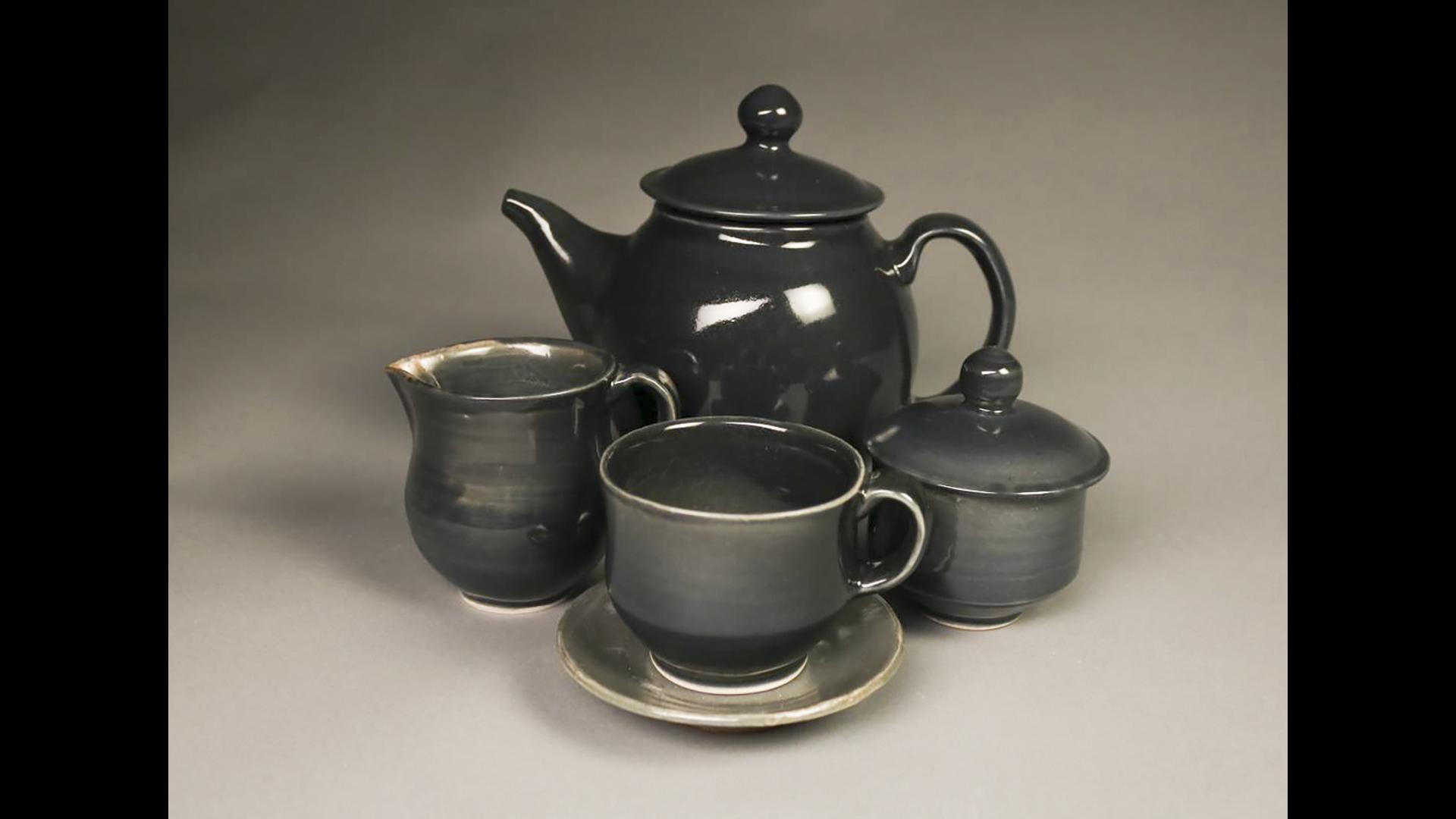 Megan Messer, Grey Tea Set