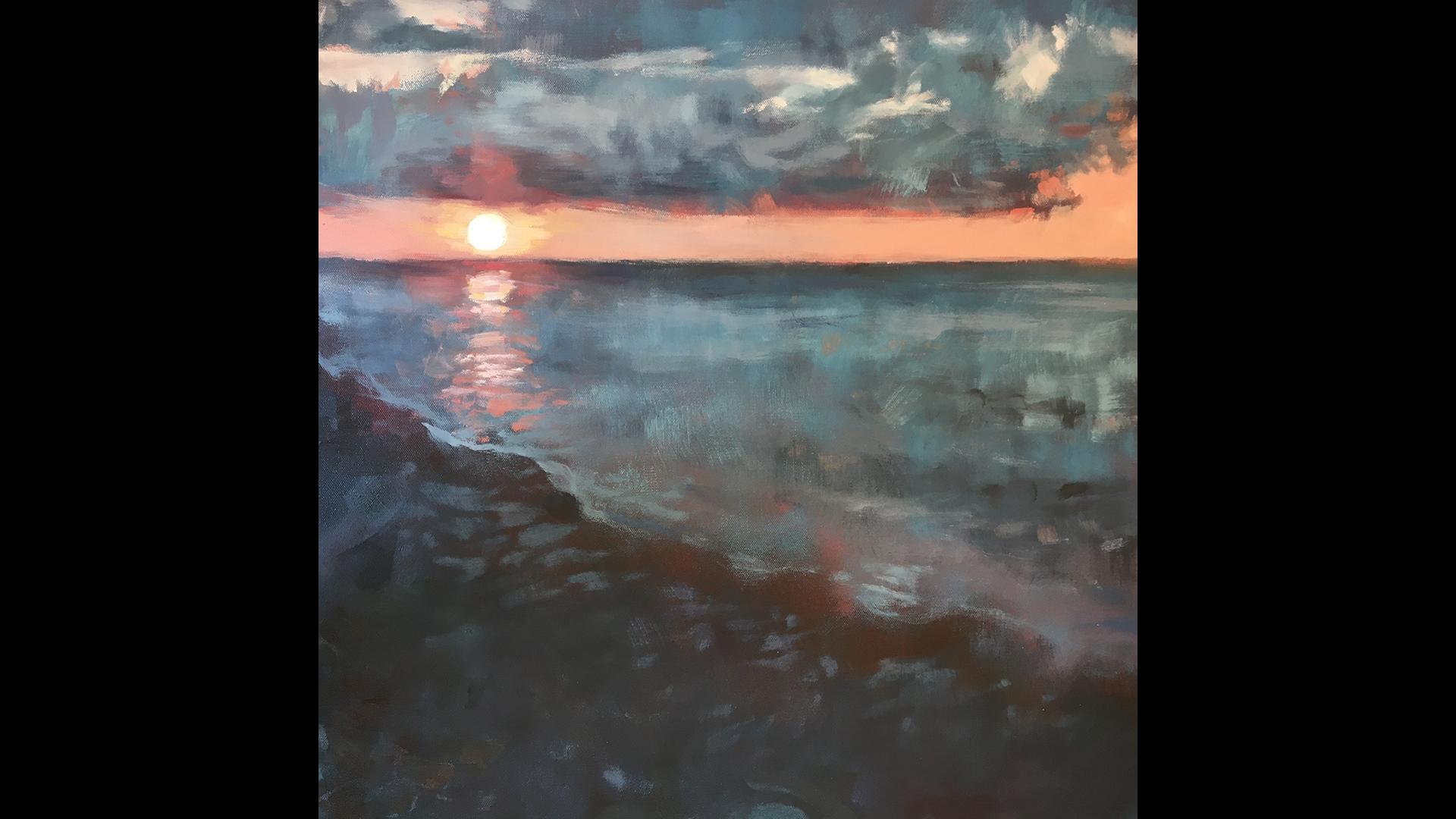 Taylor Glichen, Peach Sunset