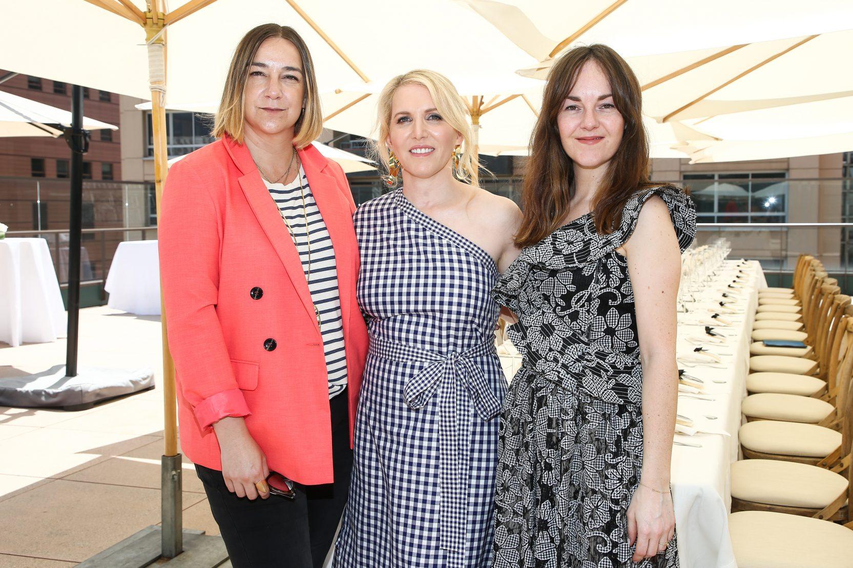 Lupe Puerta, Shari Glazer and Lauren Elrick