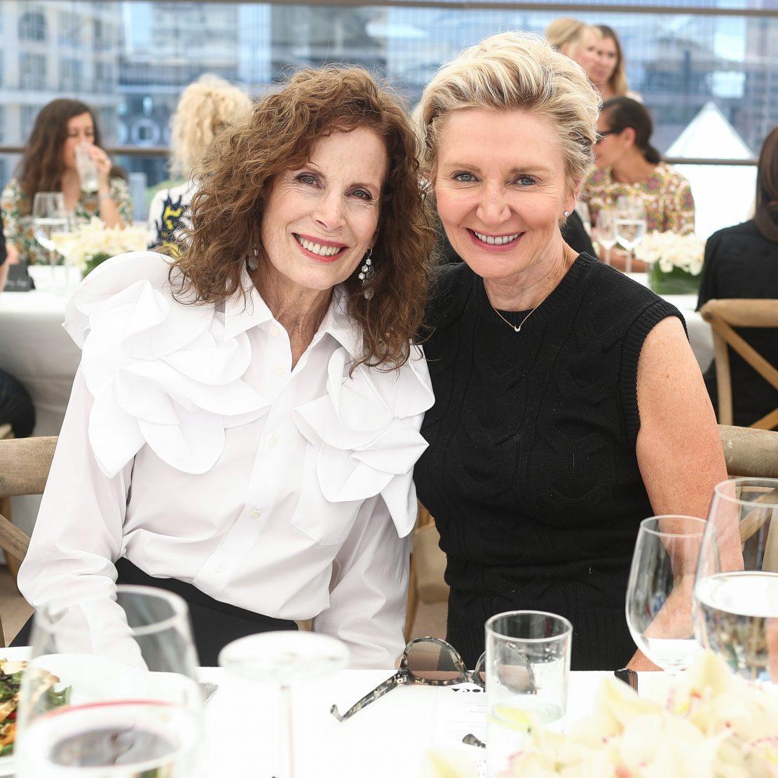 Mandy Einstein and Shelley Reid