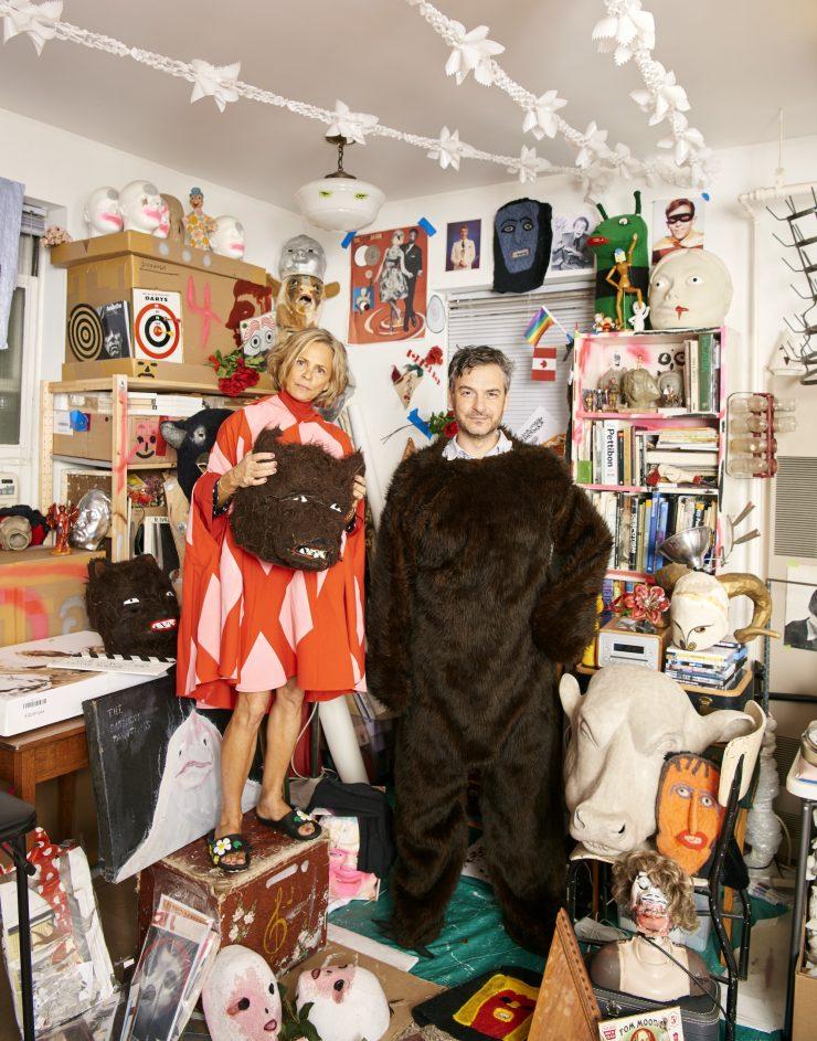 Amy Sedaris and Marcel Dzama