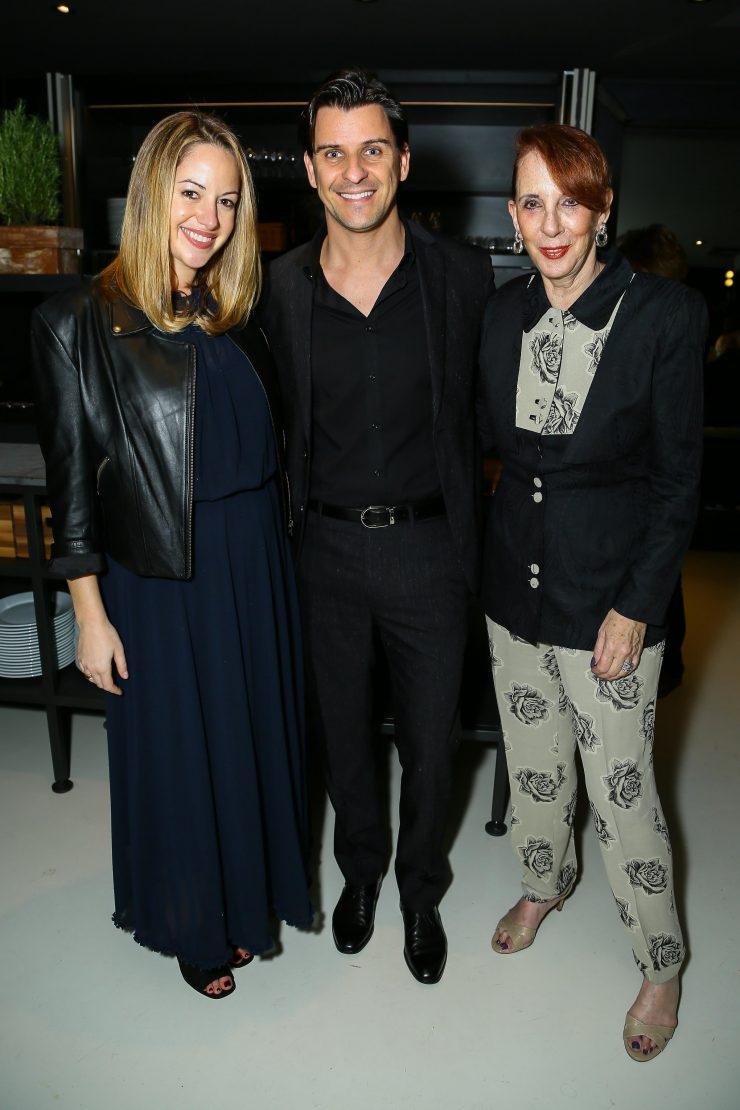 Amanda Eberstein, Davide Cremese and Gail Feldman