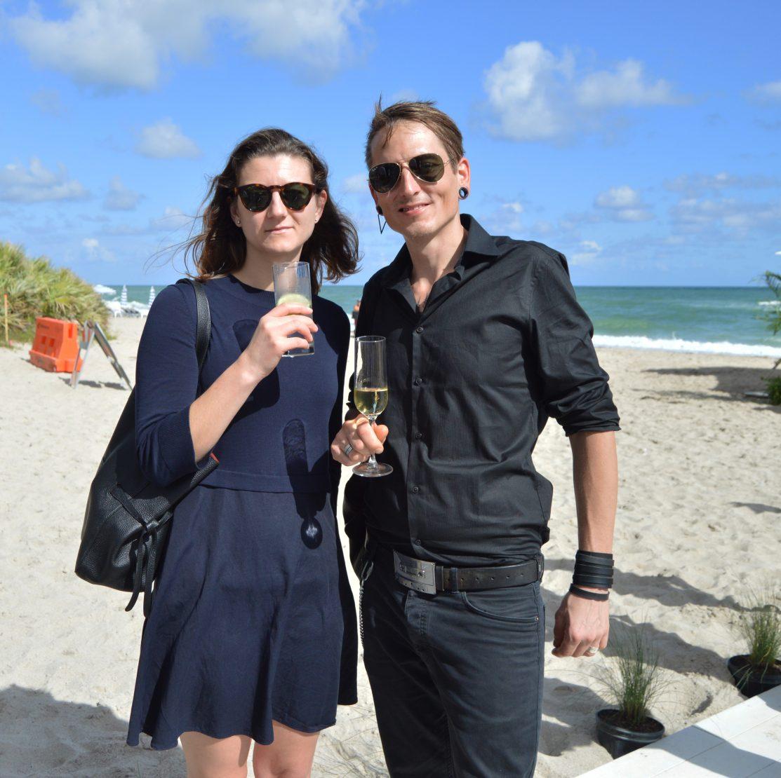 Constanze Murfitt and Marc von der Hocht
