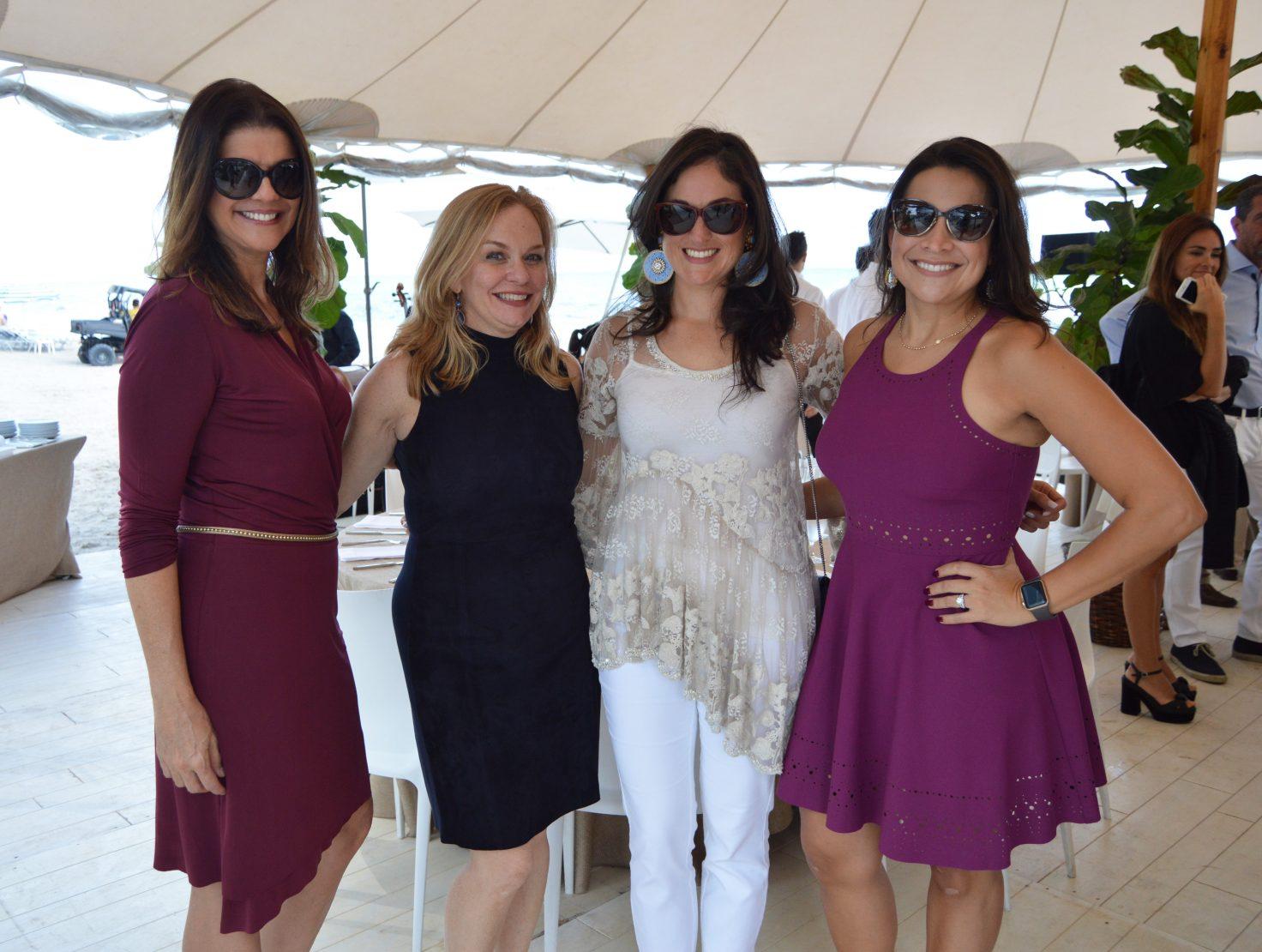 Fabia Castro, Elizabeth Garcia, Michelle Duarte and Rita Collins