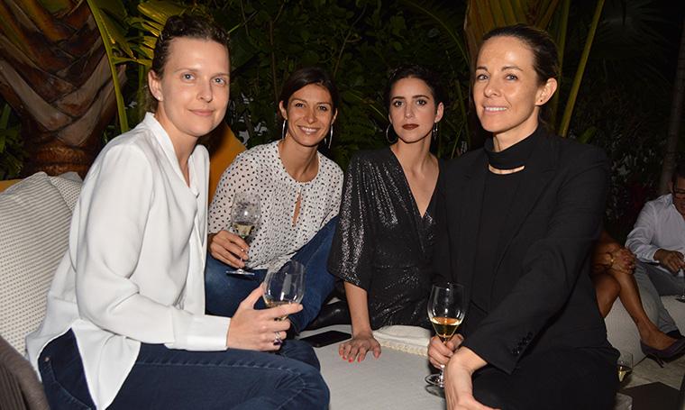 Chloe Chelz, Dragana Stojanovic, Fernanda Torcida and Justine Velez