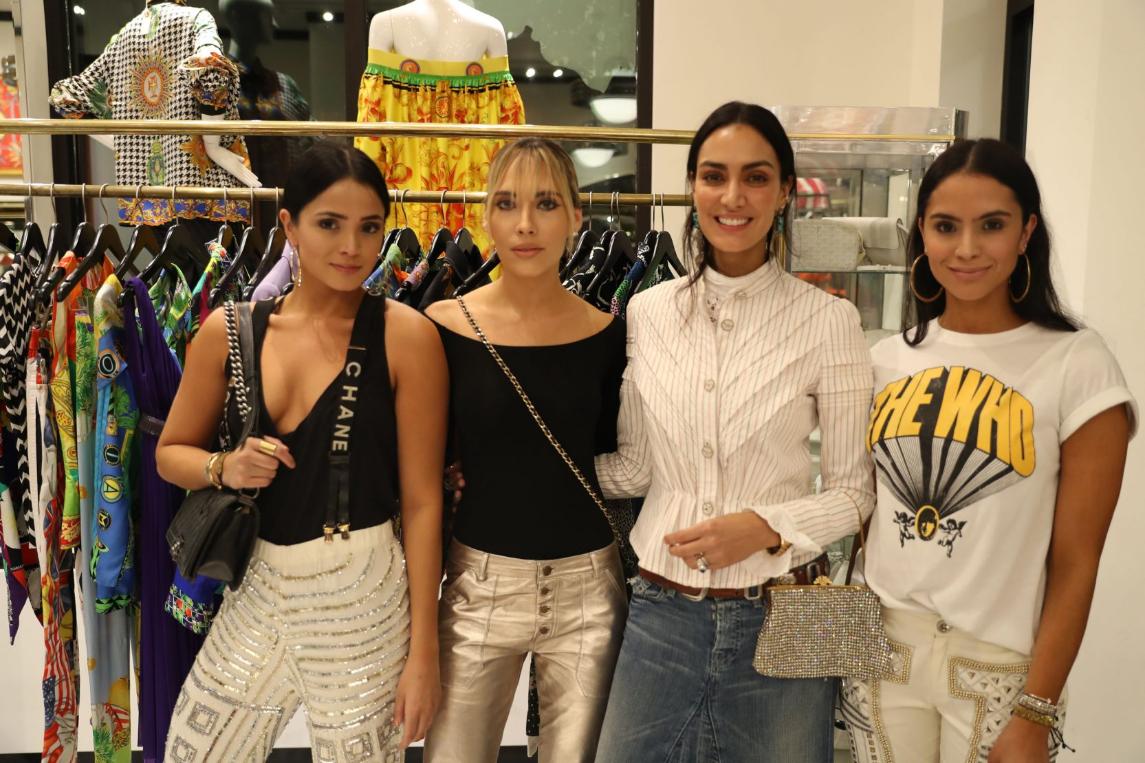 Eliana Salazar, Carolina Lindo, Jenny Lopez and Andrea Salazar