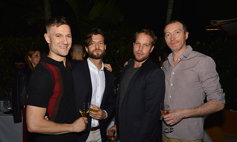 Fraser Rosebrugh, Matteo Tonti, James Wall and Christophe Delcourt