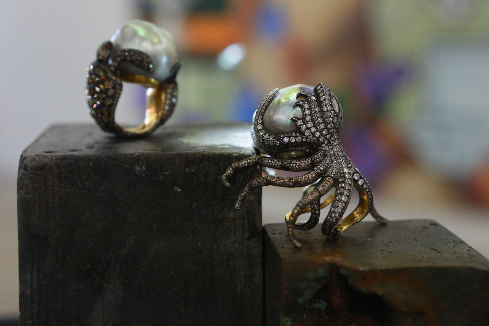 Sevan Bicacki rings