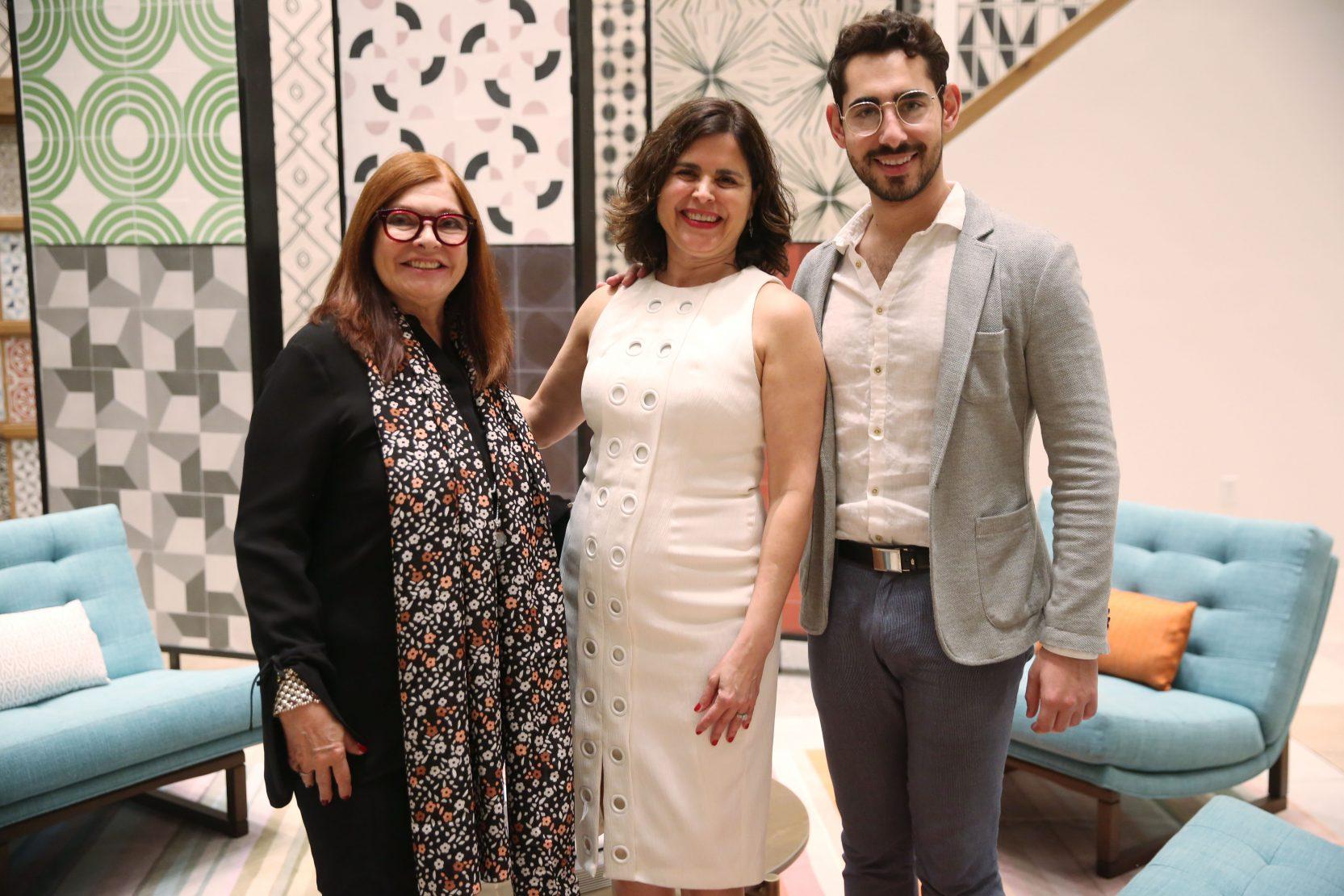 Maggie Kottmann, Silvana Garrido and Kamron Vaziri