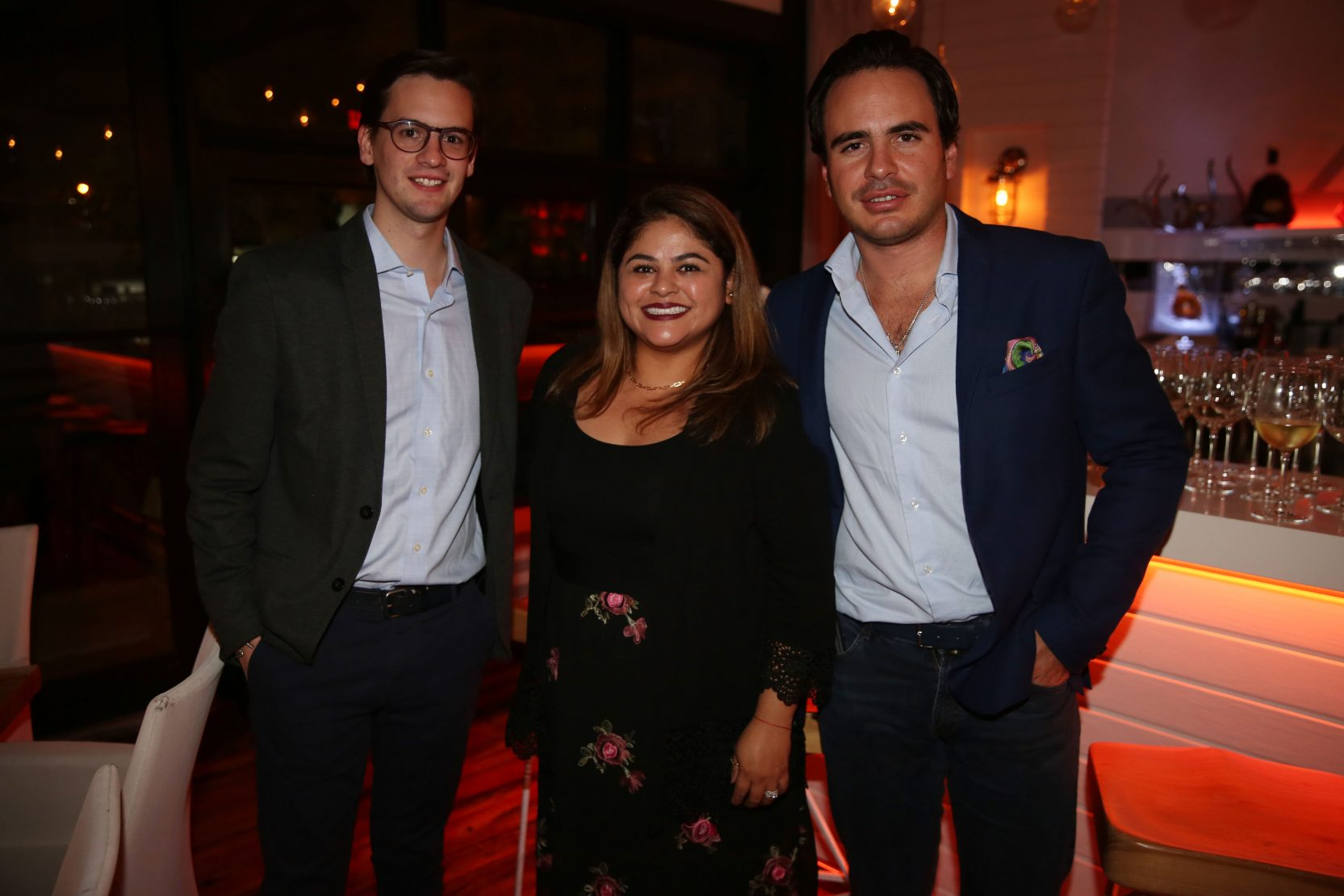 Ricardo Perez, Miluska Quispe and Eduardo Perez