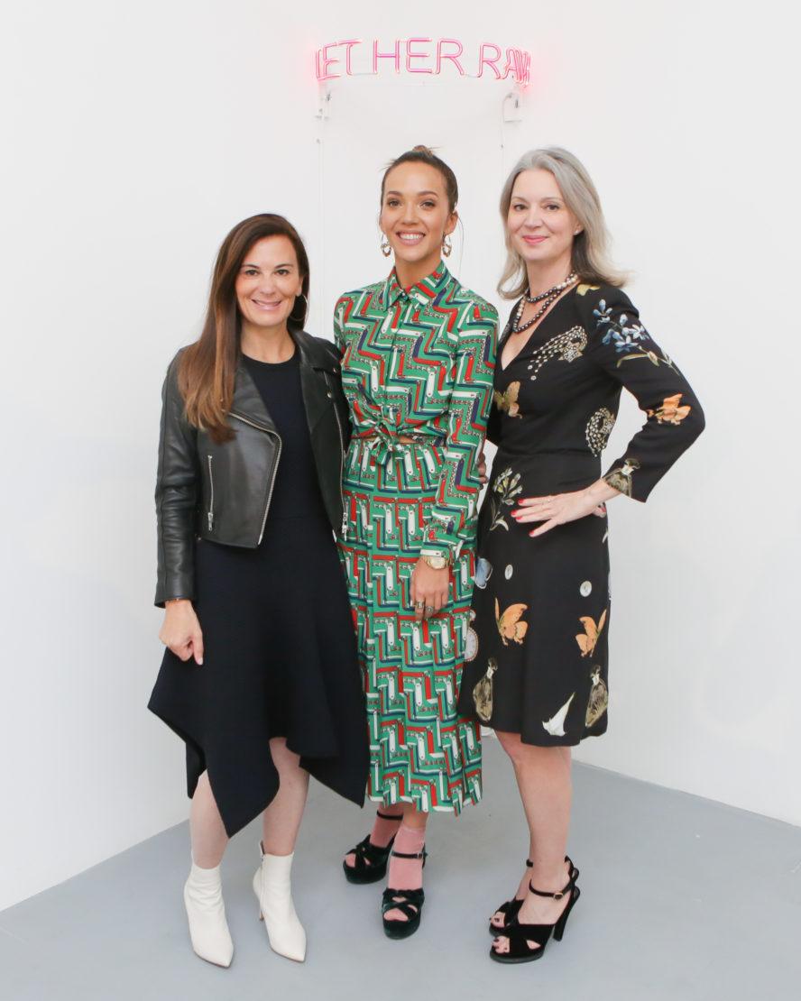 Sarah Harrelson, Zoe Buckman and Sarah Gavlak