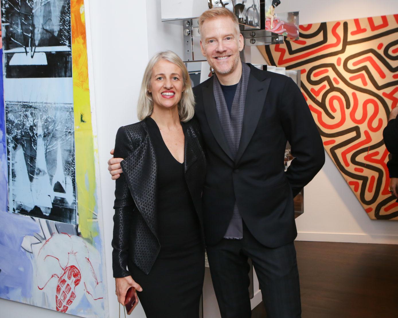 Amelia Dalgaard and Robert Row