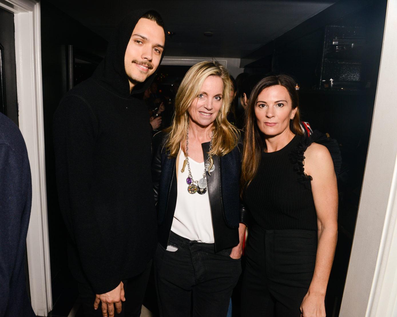 Harry Nuriev, Rachel Lee Hovnanian and Sarah Harrelson