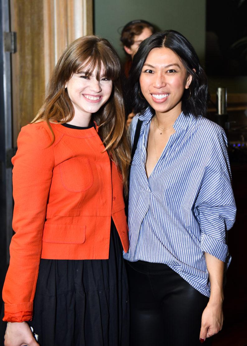 Andi Schreiber and Jennifer Chin
