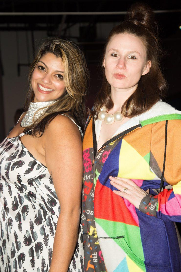 Jasmine Wahi and Rebecca Jampol