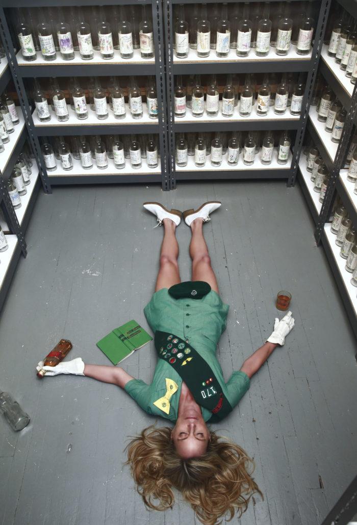 Rachel Hovnanian-Girl Scout on Floor