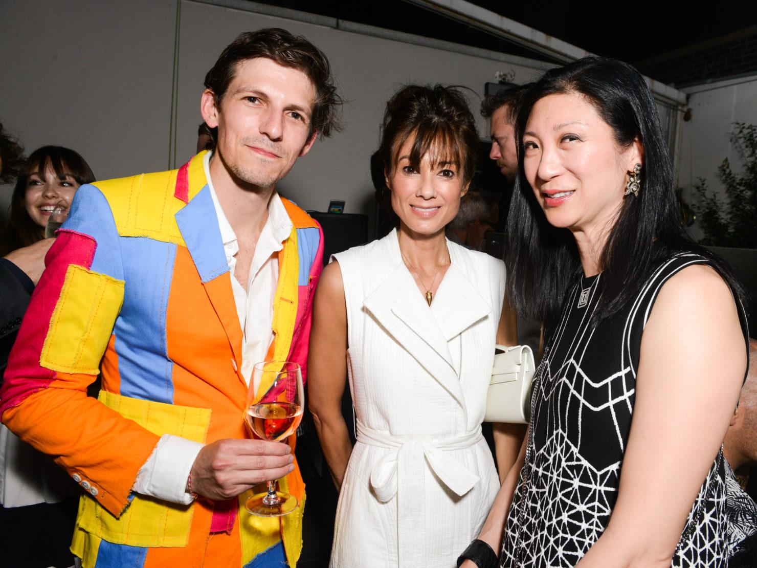 Misha Kahn, Lisa Baquero and Elena Yoon