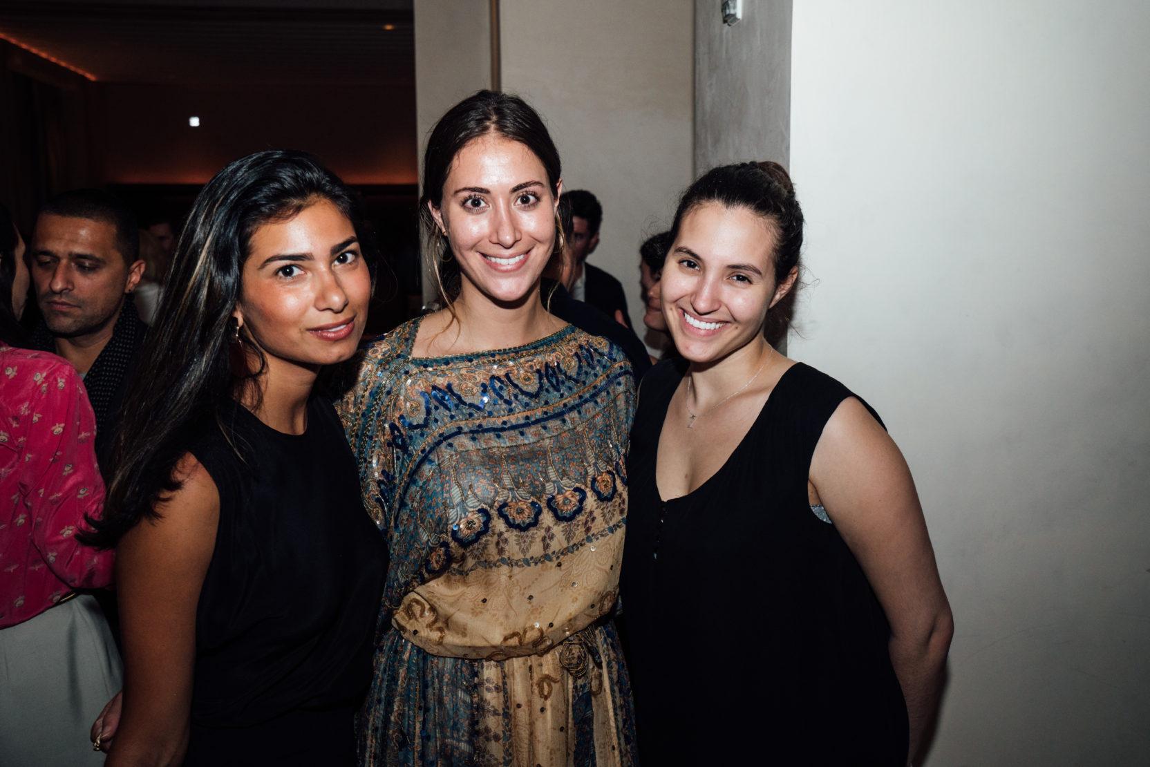 Tania Cavallo, Liza Hyman and Sophia Schrager