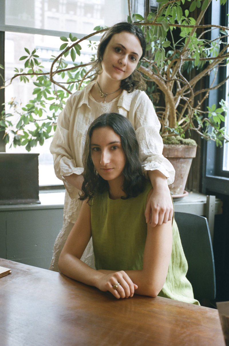 Café Forgot Vita Haas and Lucy Weisner in Tribeca, 2018.