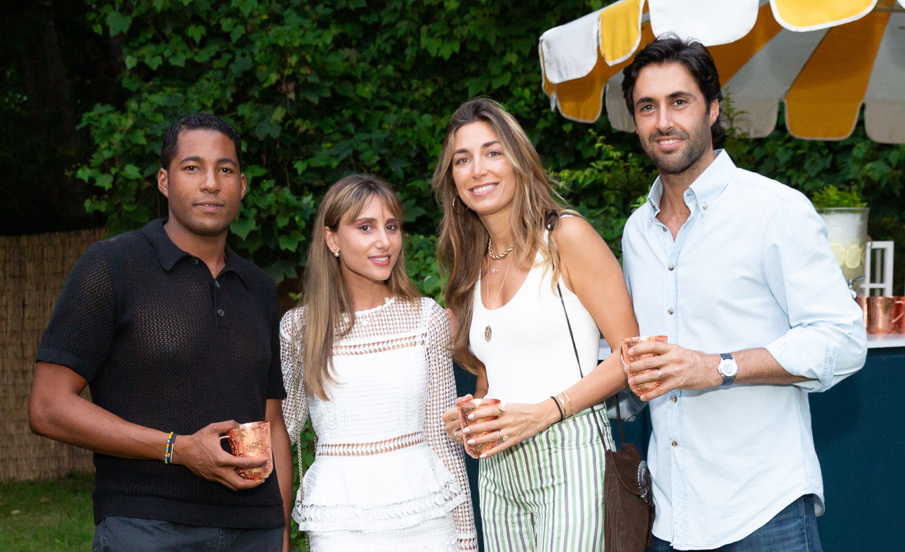 Hassan Pierre, Rachel Heller, Clea Ohana Harroch and Dan Harroch