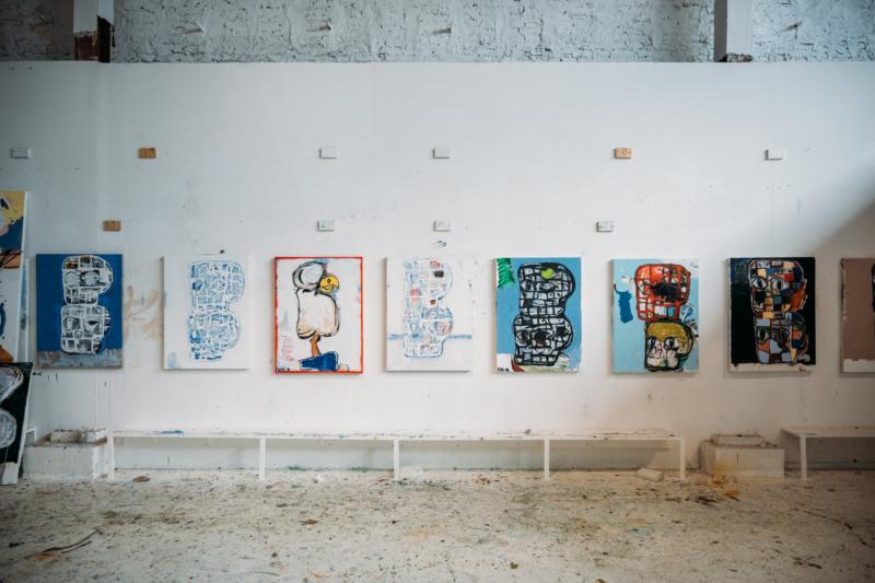 Eddie Martinez Studio Visit