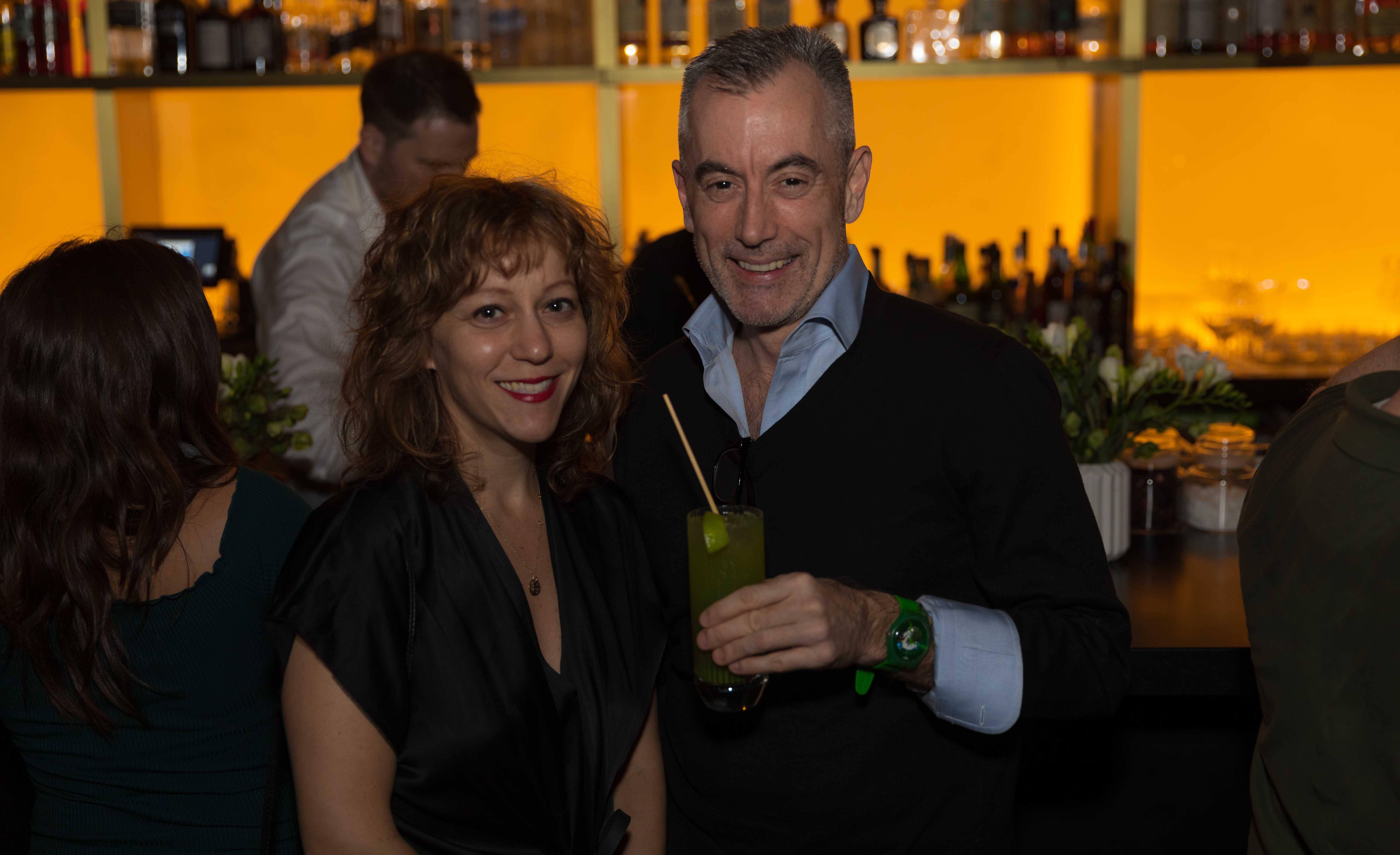 Sara Roffino and Ted Loos