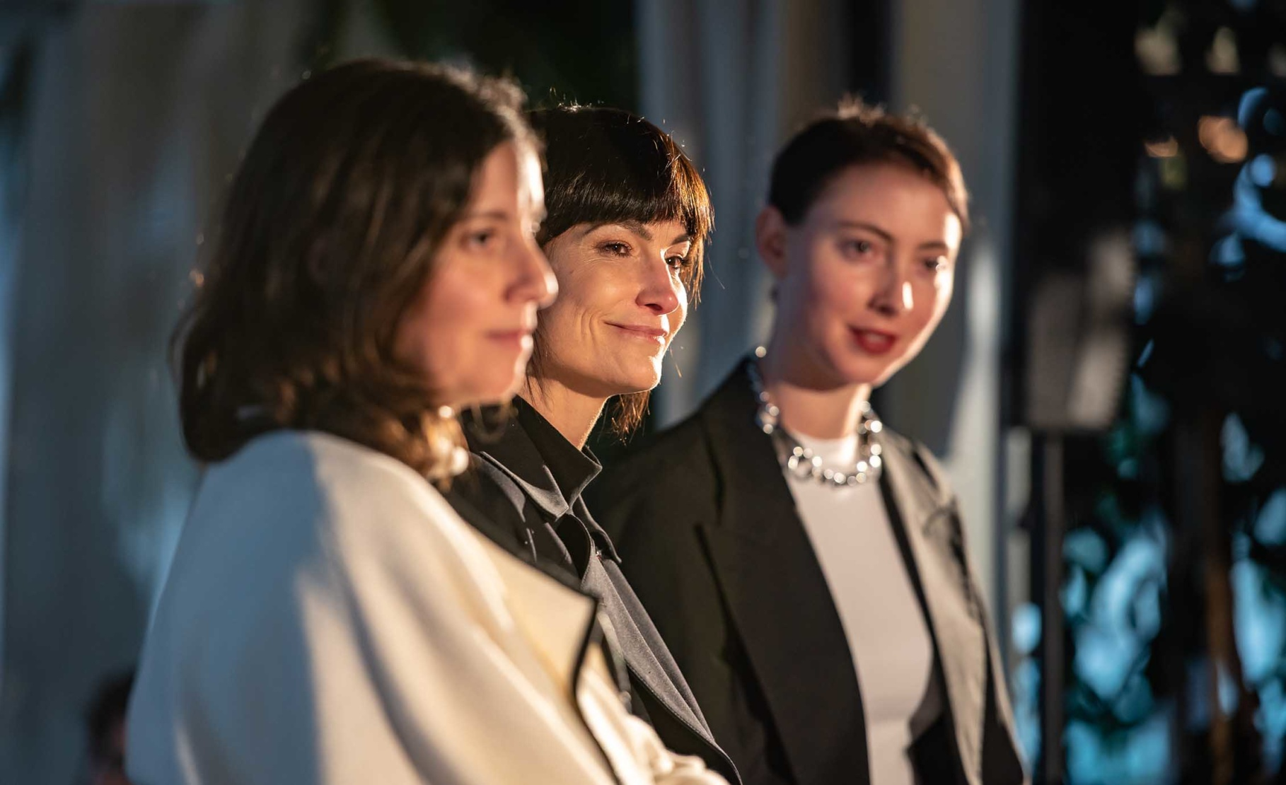 From left:Analia Saban, Rosetta Getty and Hayden Dunham
