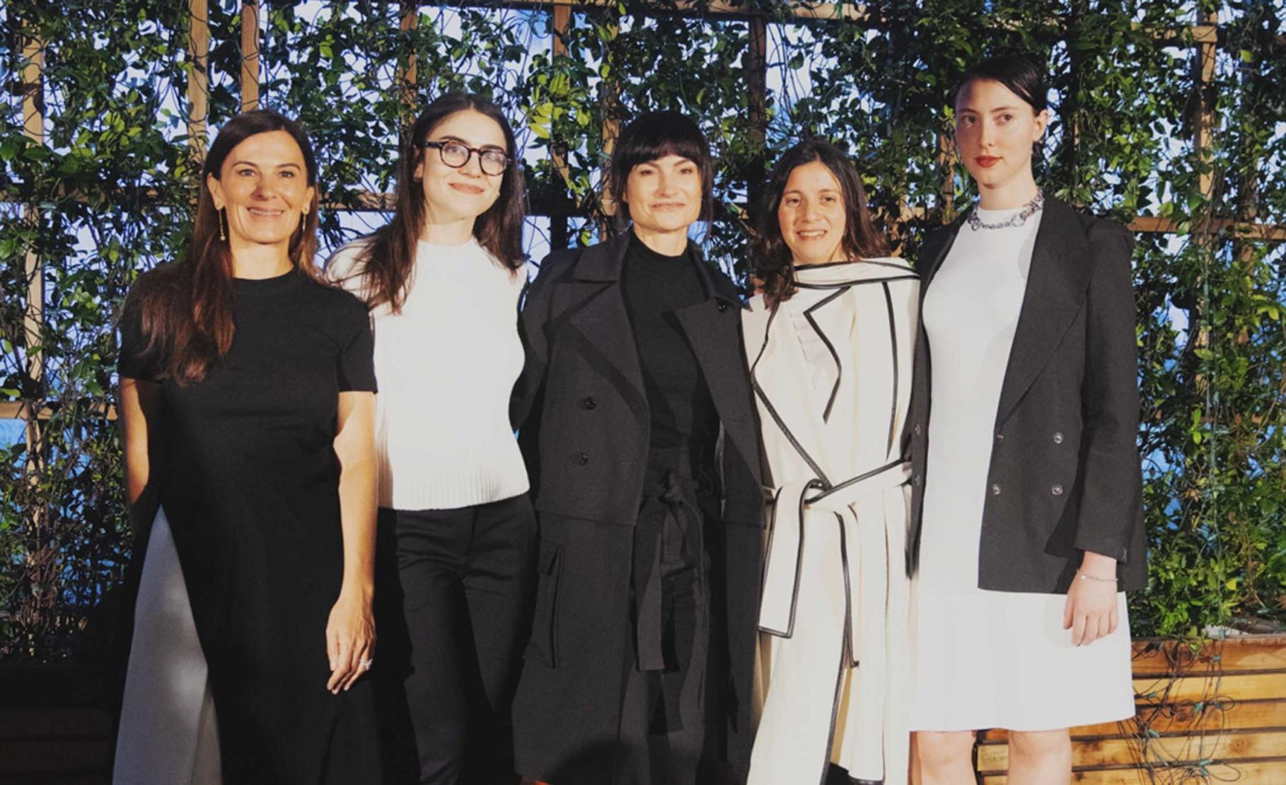 Sarah Harrelson, Alexandra Pechman, Rosetta Getty, Analia Saban and Hayden Dunham
