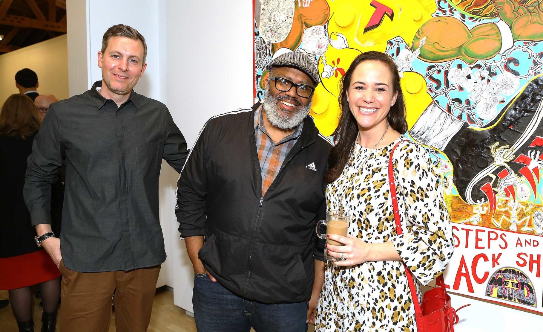Seth Curcio, Trenton Doyle Hancock and Reece Mealy