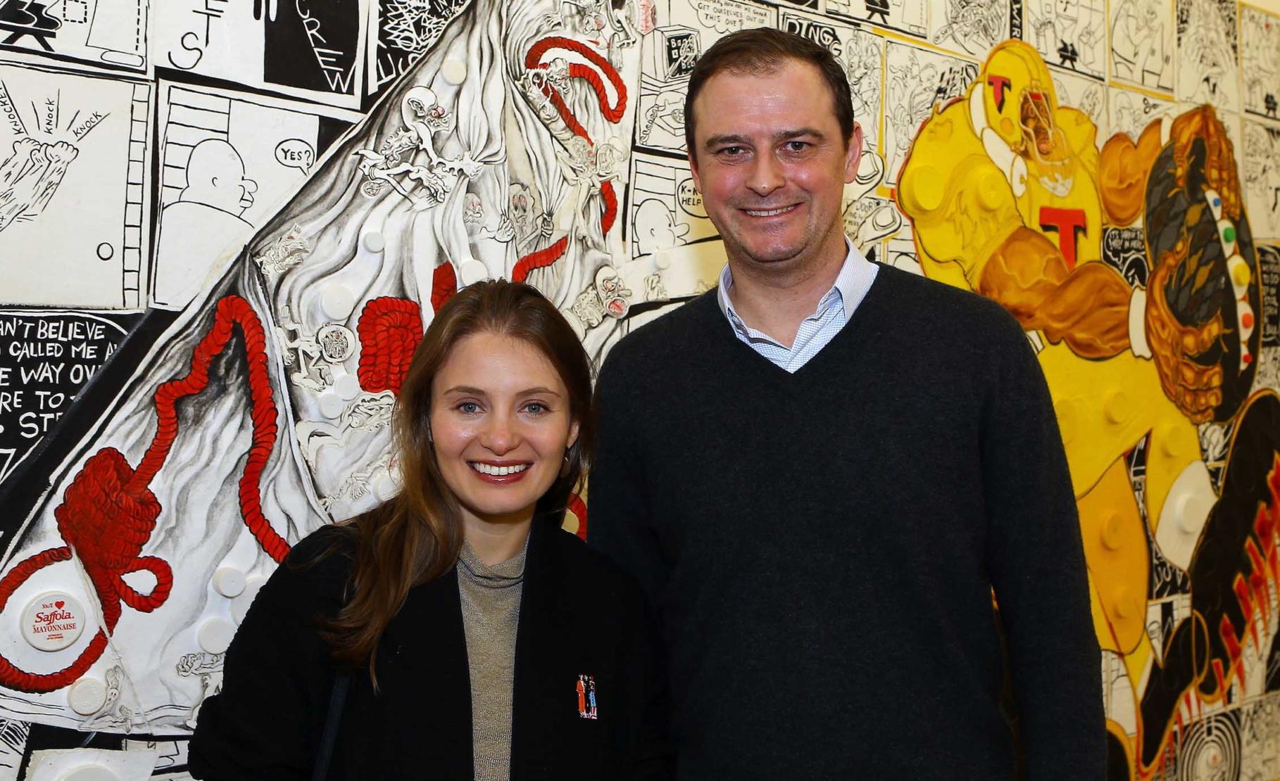 Anna Raginskaya and Dan Desmond
