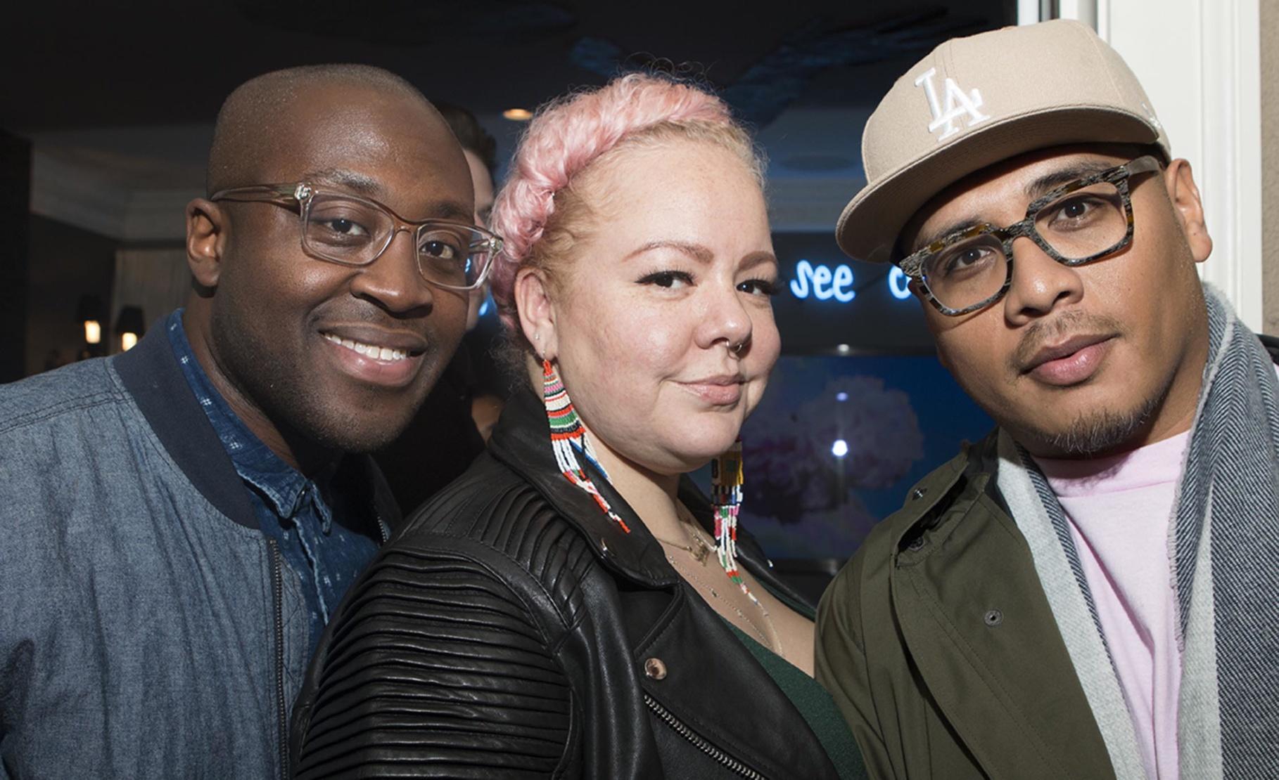 Larry Ossei-Mensah, Genevieve Gaignard and Patrick Martinez