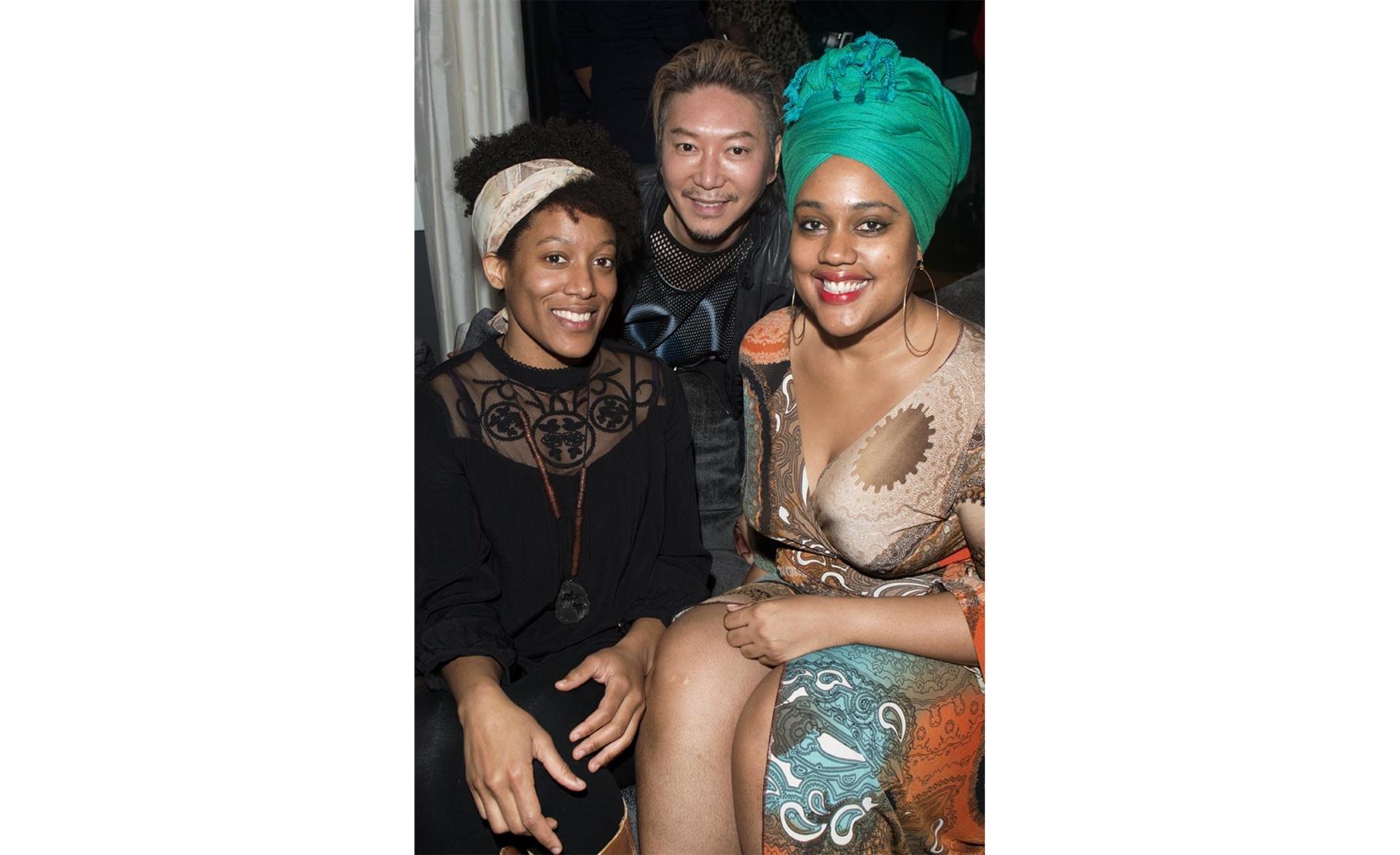 Jamilah Sabur, Hau Nguyen and Veronica Mills