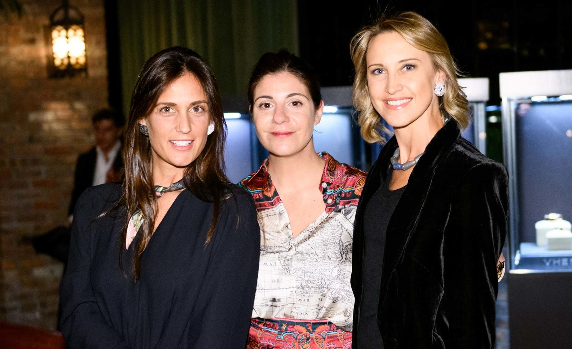 Cristiana Vigano, Maria Giulia Maramotti and Kinga Lampert