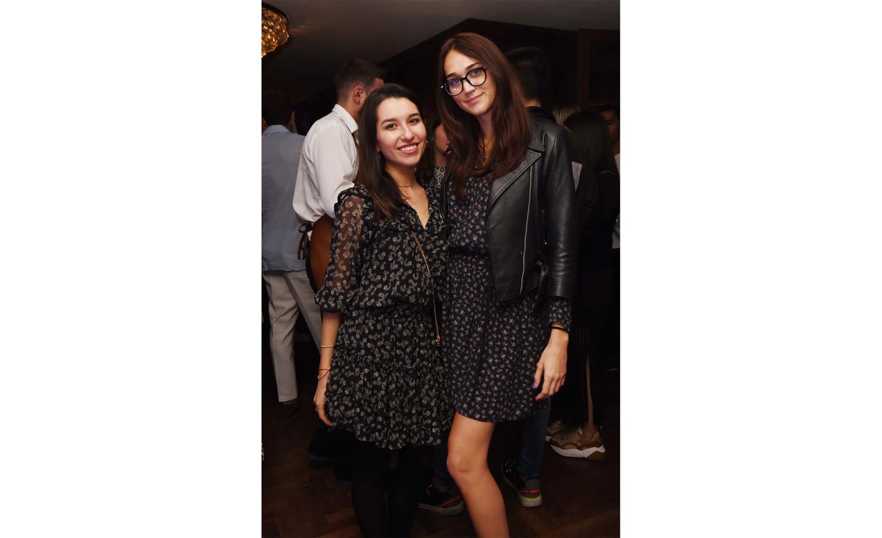 Carenina Sasha and Caroline Scannell