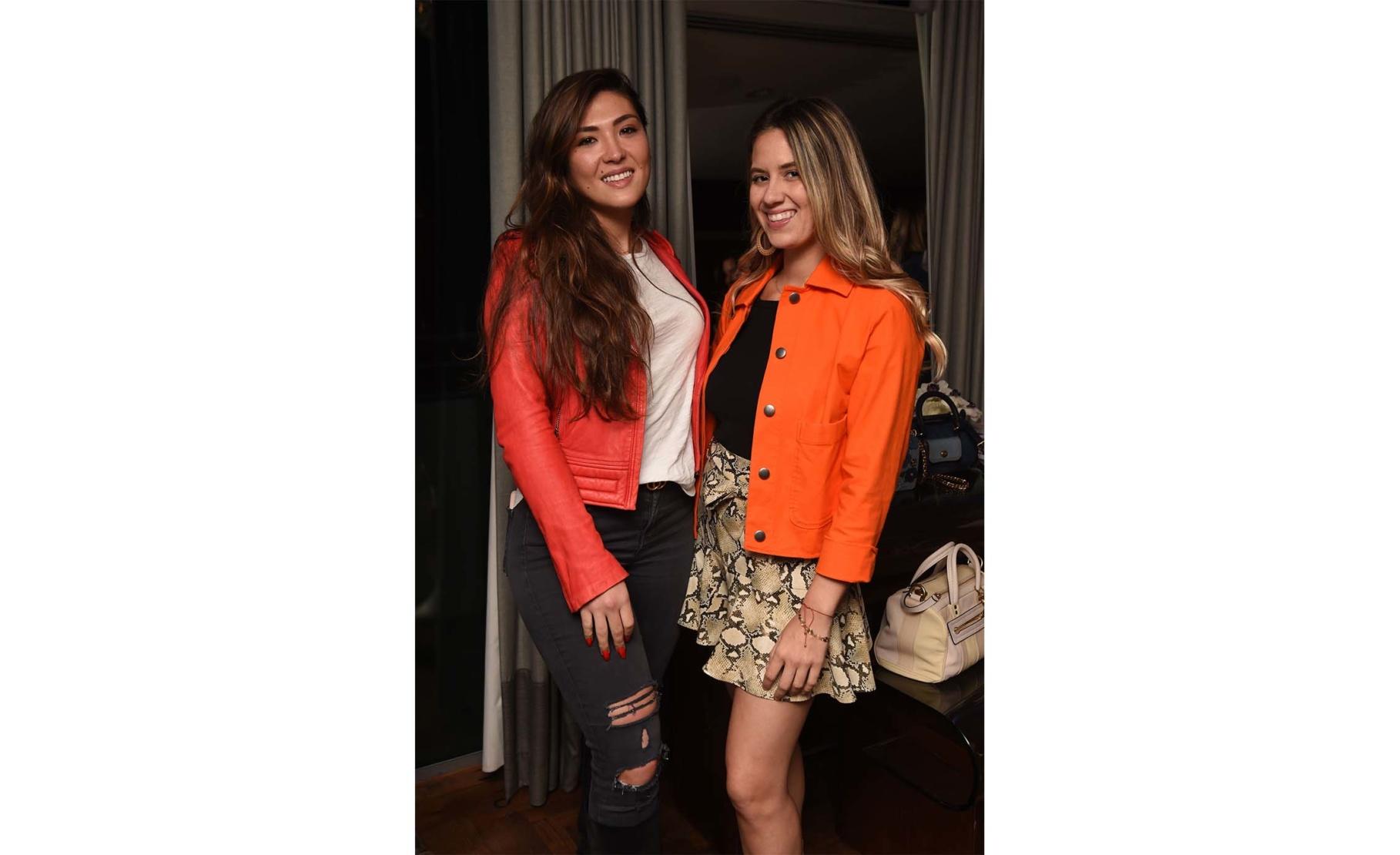 Davina Dresbach and Christine Fernandez