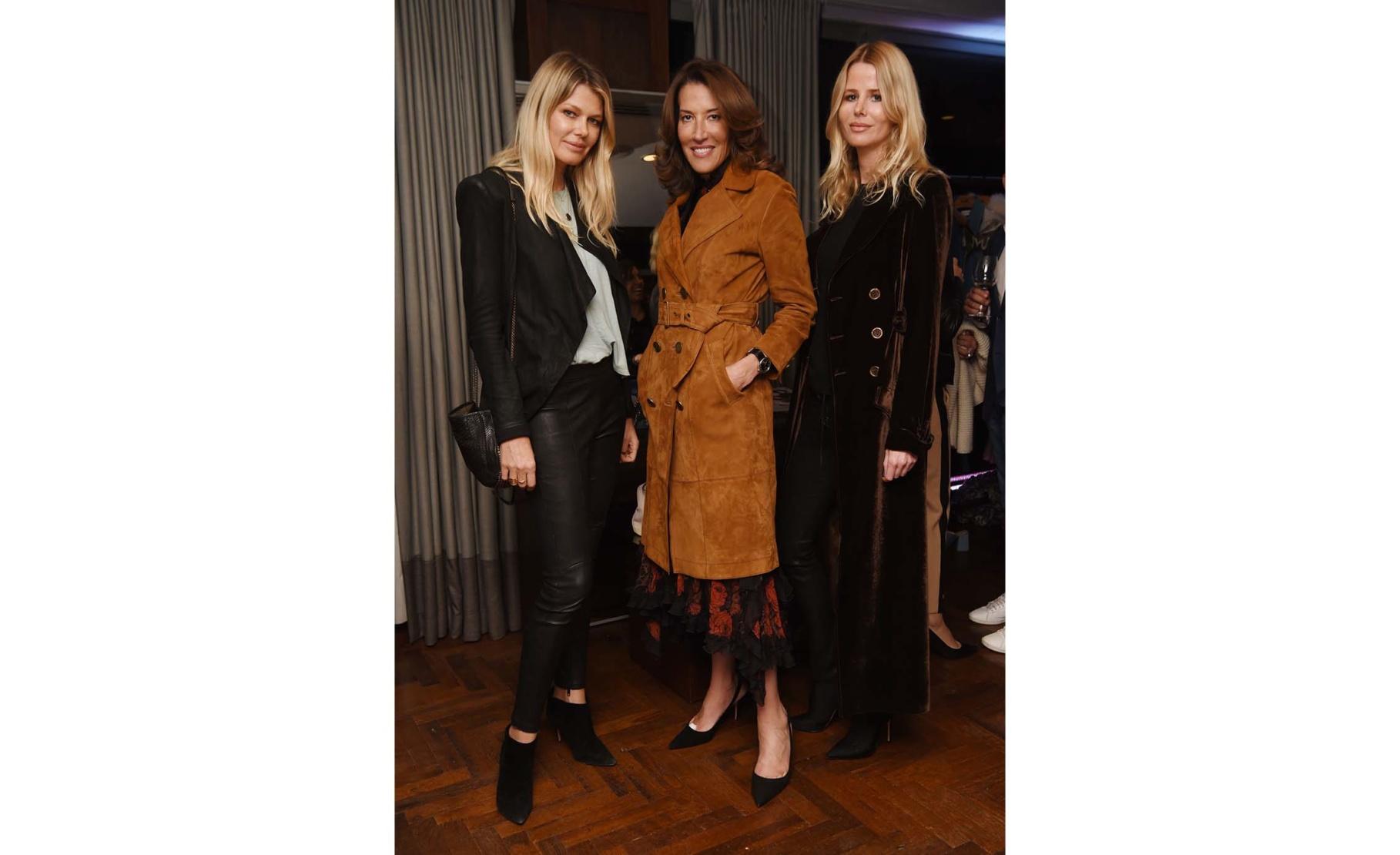 Ingrid Seynhaeve, Laura Dubin-Wander and Ina Lettmann