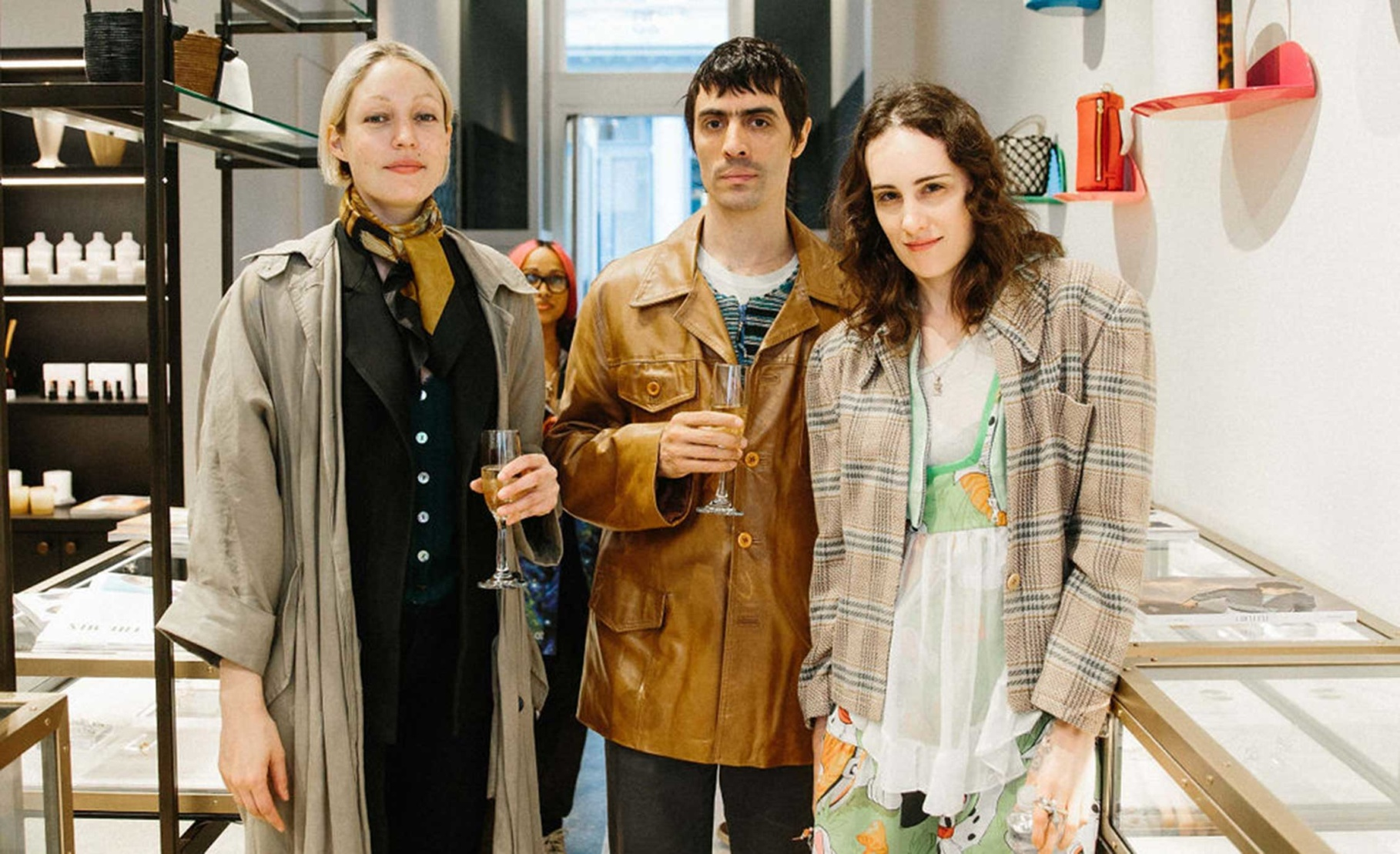 Erin Leland, Andrew and Raffaella Hanley
