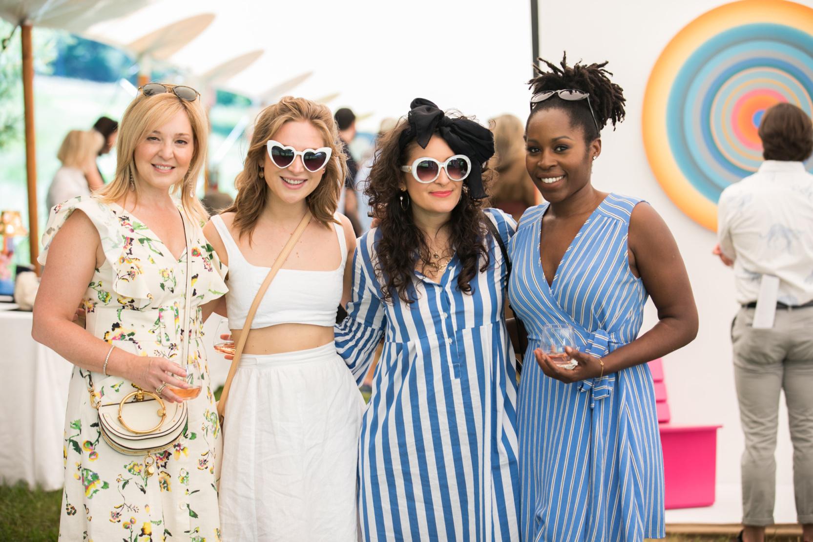 Laura Barker, Allison Barker, Nathalie Charria and Lola Adesioye