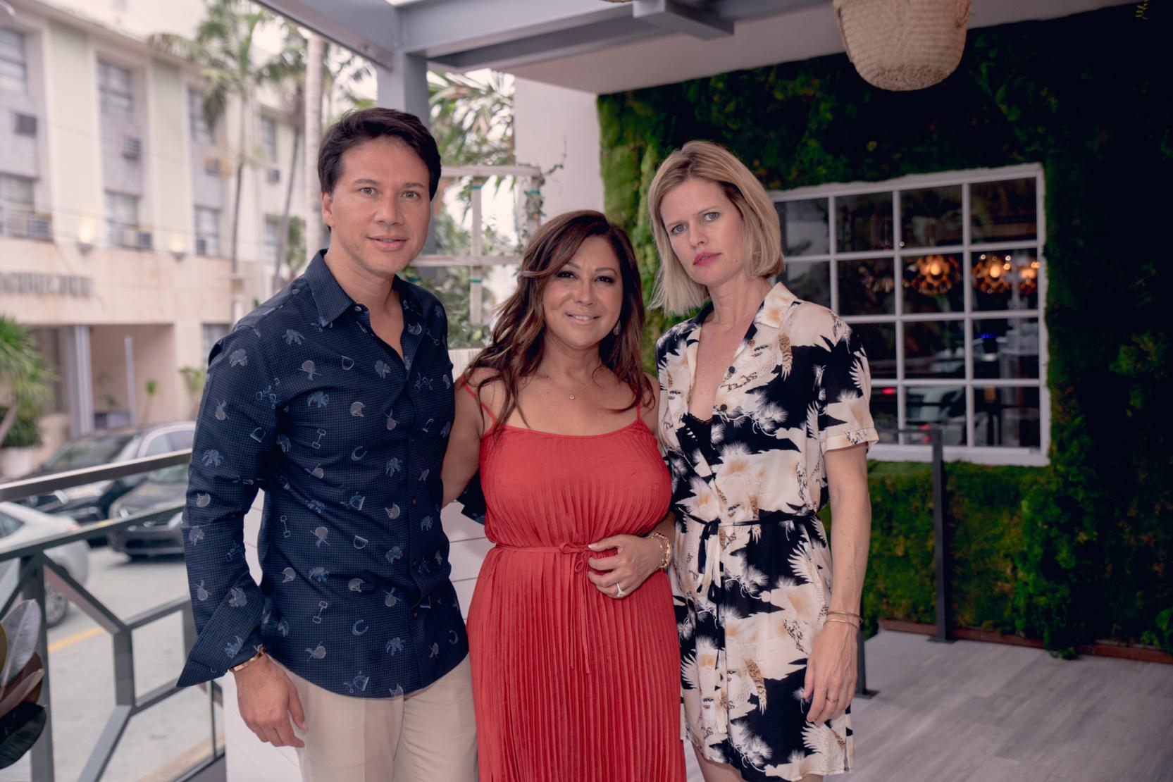 Darlei Bittencourt, Sinesia Karol and Lori Warriner